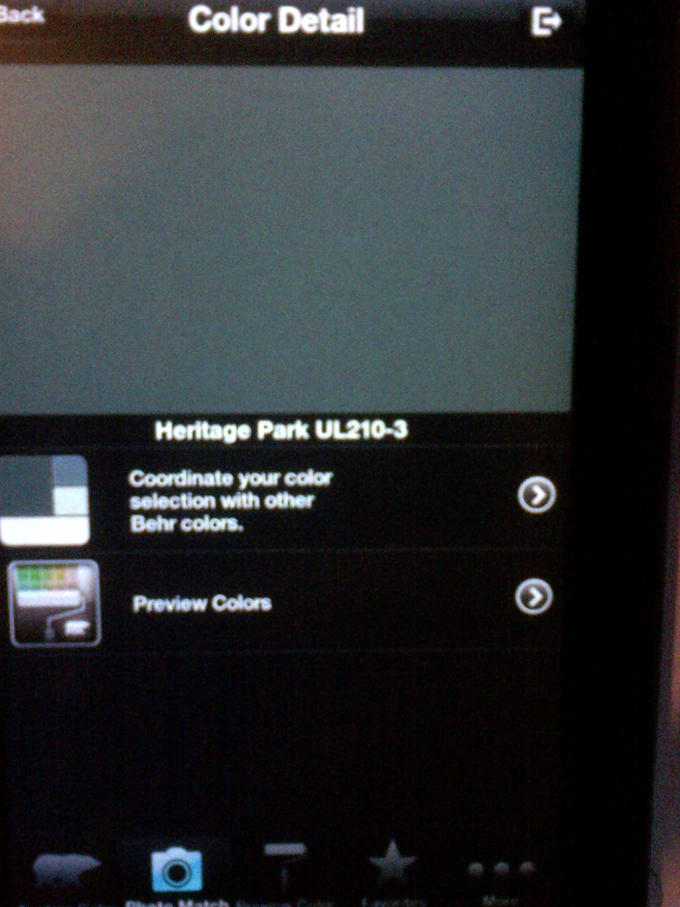 Behr Paint App Latest Project Color The Home Depot Screenshot With