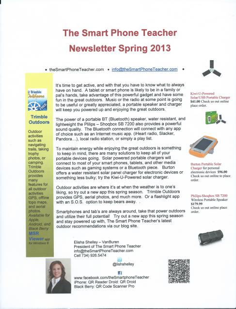 SPt Spring 2013 Newsletter